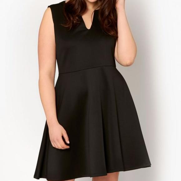 38739c8154b0bf Pink Clove Dresses   Plus Kaleigh Scuba Skater Dress   Poshmark